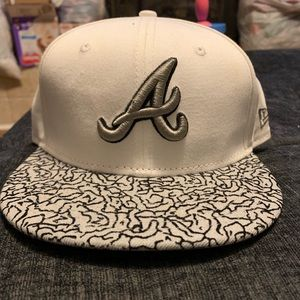 New era fitted Atlanta braves hat 7 1/4